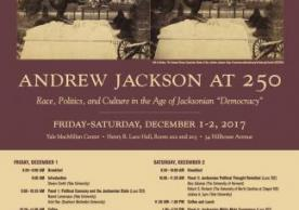 Andrew Jackson at 250 Event poster