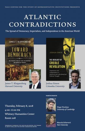 Atlantic Contradictions Event poster